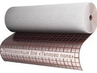изоляция с разметкой ламинированная 4мм