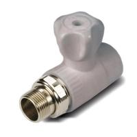 радиаторный кран прямой 25-3/4 VS PLAST
